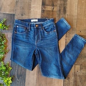 Madewell 9' high riser Skinny Jeans